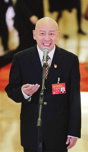 """孟广禄代表走上""""党代表通道""""谈文化发展"""