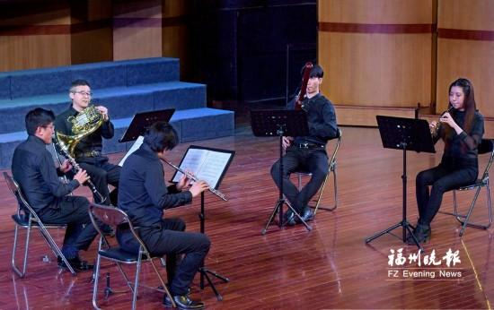 """""""沃坦""""木管五重奏音乐会27日在福州上演"""