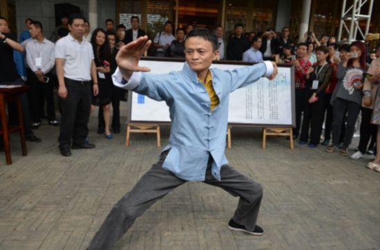 推廣武學馬雲首次觸電 中國文化走出去《功守道》當先