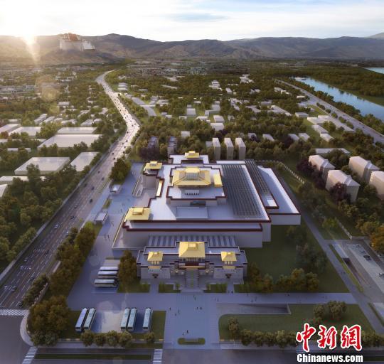 西藏博物馆扩建选用左右对称方案 2020年完成主体建设