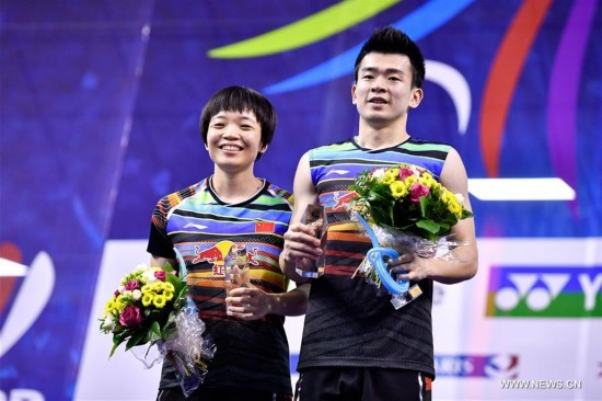 (SP)FRANCE-PARIS-BADMINTON-YONEX FRENCH OPEN-MIXED DOUBLES-FINAL