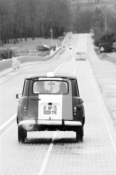 聚焦太阳能道路:用来满足电动车充电等需求