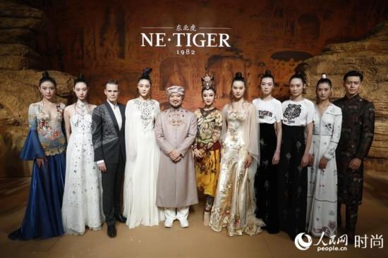 中国国际时装周开幕首秀 展现敦煌壮美