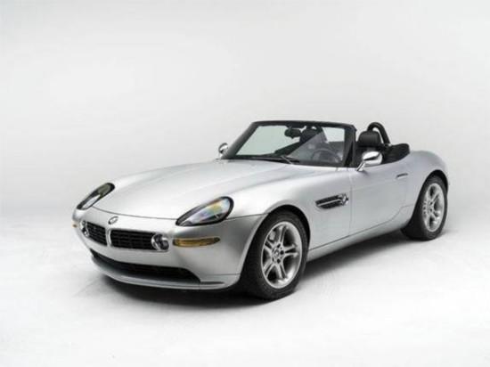 乔布斯座驾宝马Z8将接受拍卖 估价达40万美元