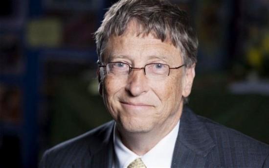 英媒晒国外名人收入 比尔・盖茨每天入账6000多万元