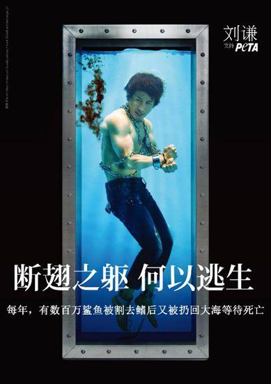 刘谦拍摄公益大片呼吁公众善待动物
