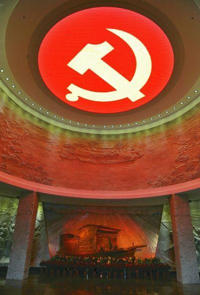 党的十九大闭幕仅一周,习近平总书记就带领中央政治局常委瞻仰上海