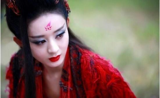 女星古装红衣惊艳 赵丽颖冷艳刘诗诗淡雅陈乔恩霸气