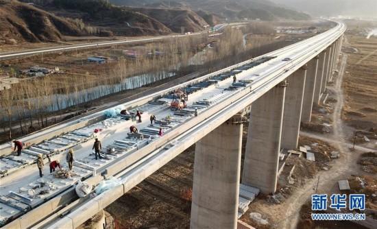 京沈高铁建设稳步推进