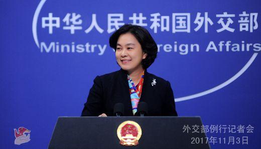 外交部:国际社会积极评价人类命运共同体理念写入一委决议
