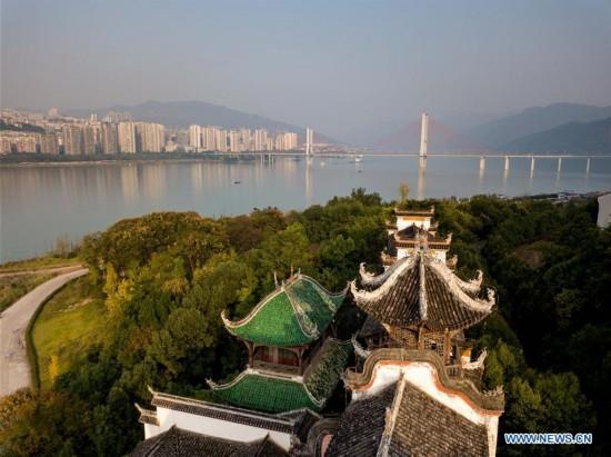 CHINA-CHONGQING-ZHANG FEI TEMPLE (CN)