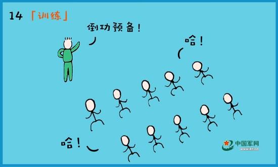 漫说漫画这些年!女兵小漫画家兵小美的成长足军营三国高达sd图片