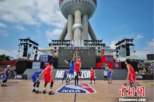 2017-2018Jr.NBA联赛上海站本周五揭幕