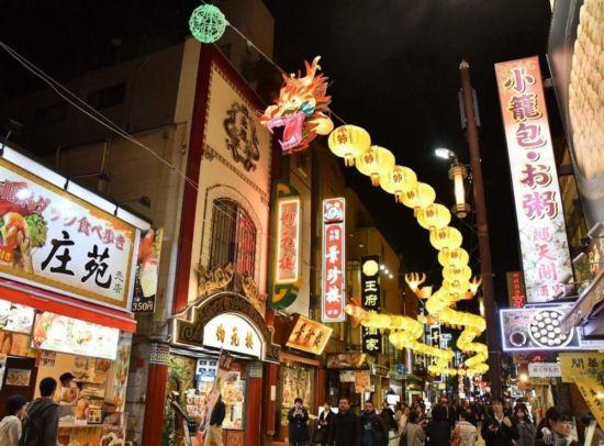 春节花灯 横滨 中华街