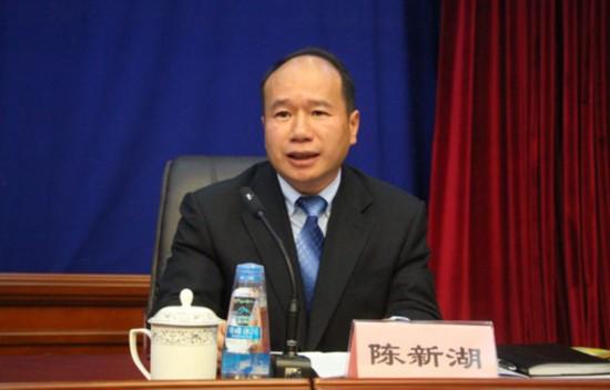 新闻发言人:西藏自治区国土资源厅副厅长、区测绘局局长陈新湖.jpg