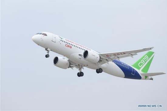 CHINA-SHANGHAI-C919-TEST FLIGHT (CN)