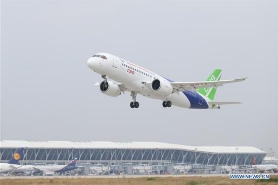 CHINA-SHANGHAI-C919-TEST FLIGHT (CN)
