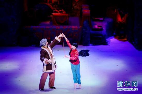 (XHDW)(1)日本松山芭蕾舞团演出经典剧目《白毛女》