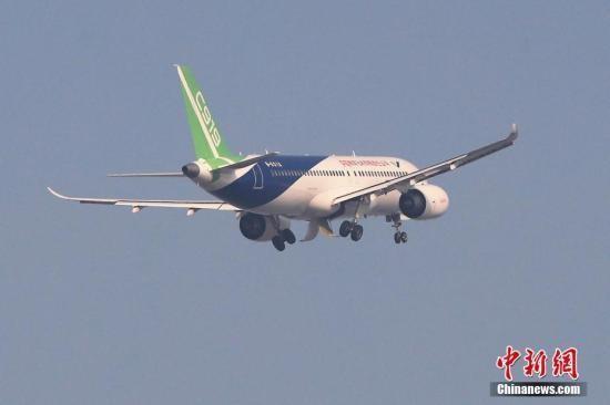 """C919计划今日首次出""""远门""""飞行时间约为3小时"""