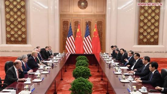CHINA-BEIJING-LI KEQIANG-TRUMP-MEETING (CN)