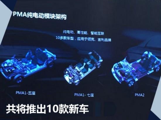吉利将共享高端纯电车平台 新车续航达600km-图2