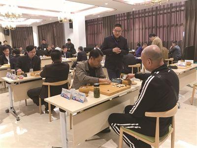 沪杭宁多地选手在南通海门参加围棋邀请赛