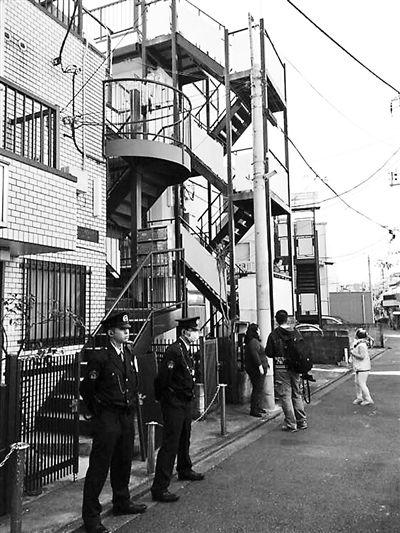 日本警方仍在江歌租住的公寓调查