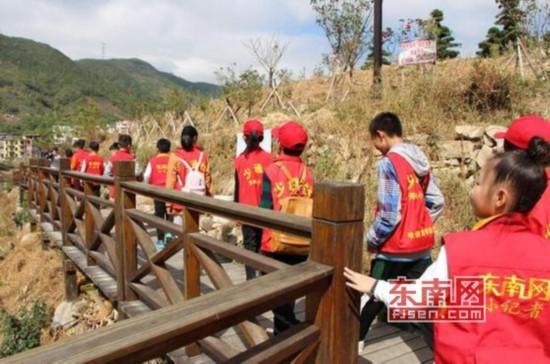 莆田:少通社小记者走进涵江崇福村 发现美丽乡村不一样的美