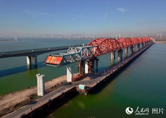 京张高铁官厅水库特大桥主桥主体工程完工【2】