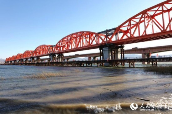 京张高铁官厅水库特大桥主桥主体工程完工【6】
