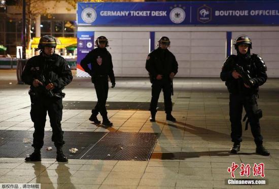 法国警方加强安保。
