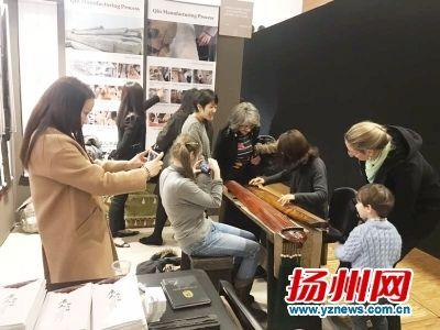 扬州古琴吸引法国观众关注