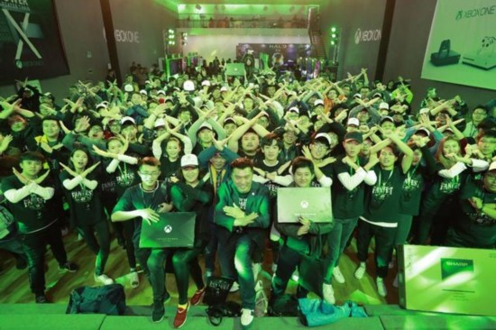 Player exclusive night, Xbox FanFest Beijing review