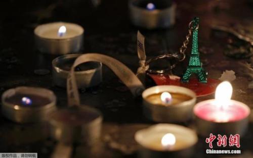 资料图:2016年11月13日,法国纪念巴黎连环恐怖袭击一周年