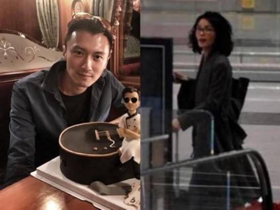 王菲机场喊谢霆锋 网友:像是妈走丢了孩子(图)