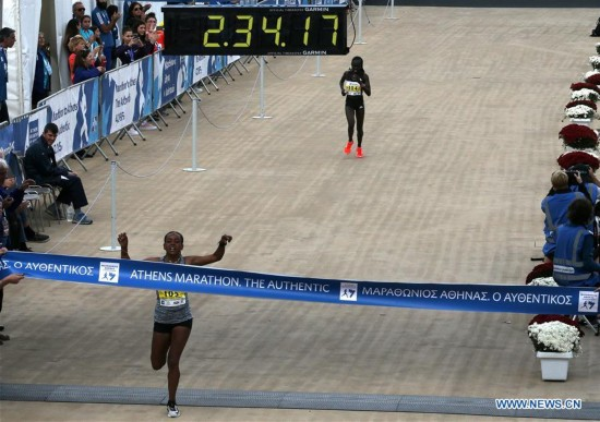 Highlights of 35th Athens Marathon