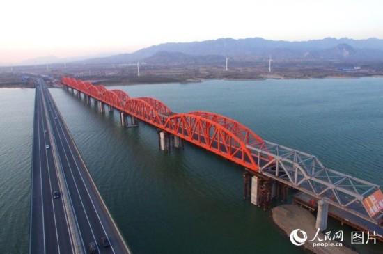 京张高铁官厅水库特大桥主桥主体工程完工【4】