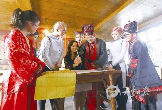 大丰白驹镇举办中华水浒文化节 吸引中外游客