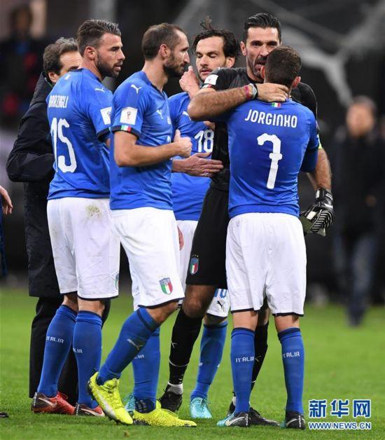 (体育)(1)足球――世预赛:意大利无缘世界杯决赛圈