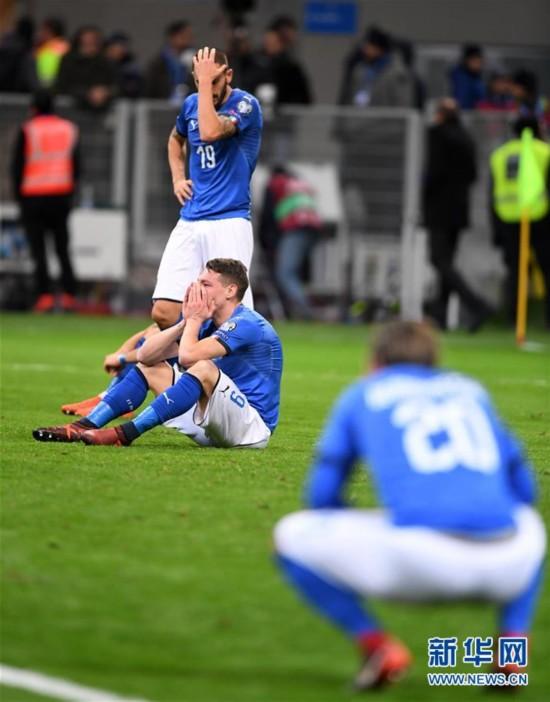 (体育)(3)足球――世预赛:意大利无缘世界杯决赛圈