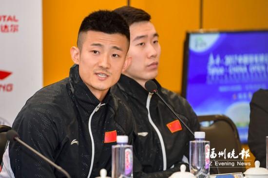 中国羽毛球公开赛14日开赛 谌龙:争取比去年成绩更好