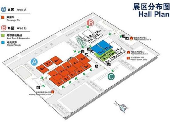 2017广州国际车展17日开幕 全球首发车47辆