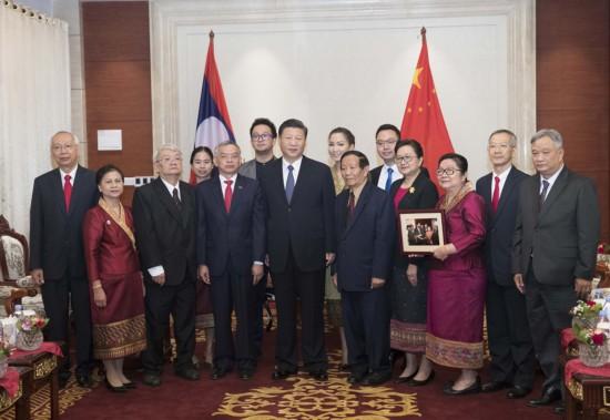 Chinese President Xi Jinping pays state visit to Laos