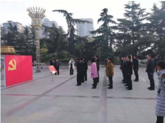 单县县委组织部组织党员干部 参观红色教育基地接受革命传统教育