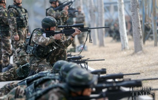 Close look at China's elite Falcon Commando Unit