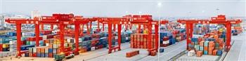 前三季度泰州集装箱码头吞吐量同比增36.5%