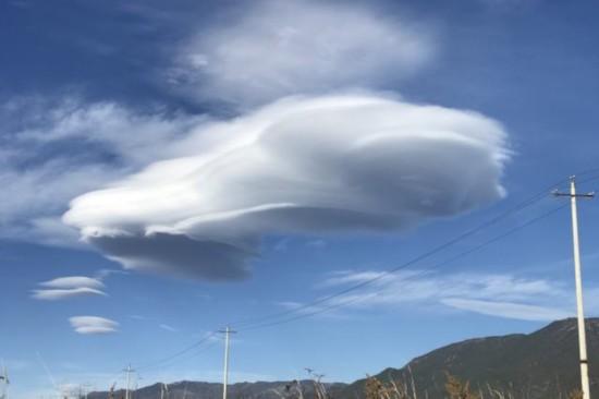 外星人来了?云南丽江的云美翻网友