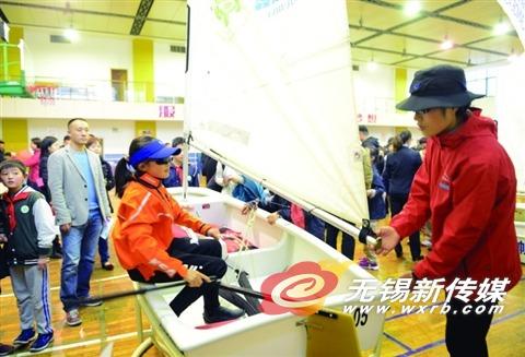 江苏首个帆船运动特色学校落户无锡连元街小学