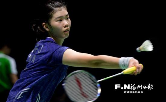中国羽毛球公开赛半决赛在福州举行 小将高�P洁击败奥运冠军马琳
