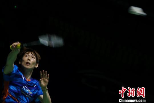2017中羽赛:谌龙2:1战胜韩国名将孙完虎进军决赛